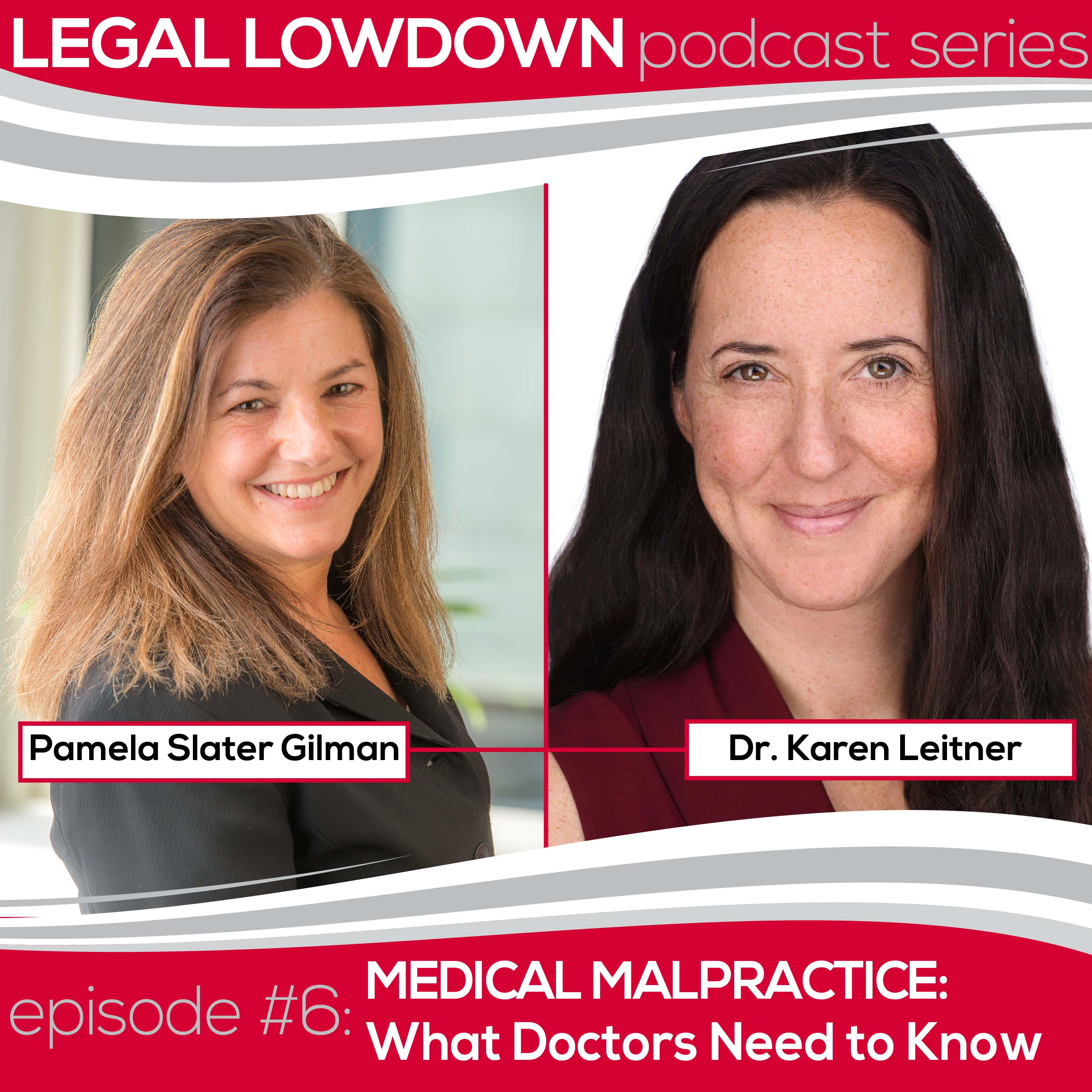 Legal Lowdown Podcast – Episode #6 – Medical Malpractice: What doctors need to know