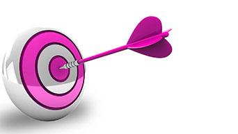 dart making bullseye icon