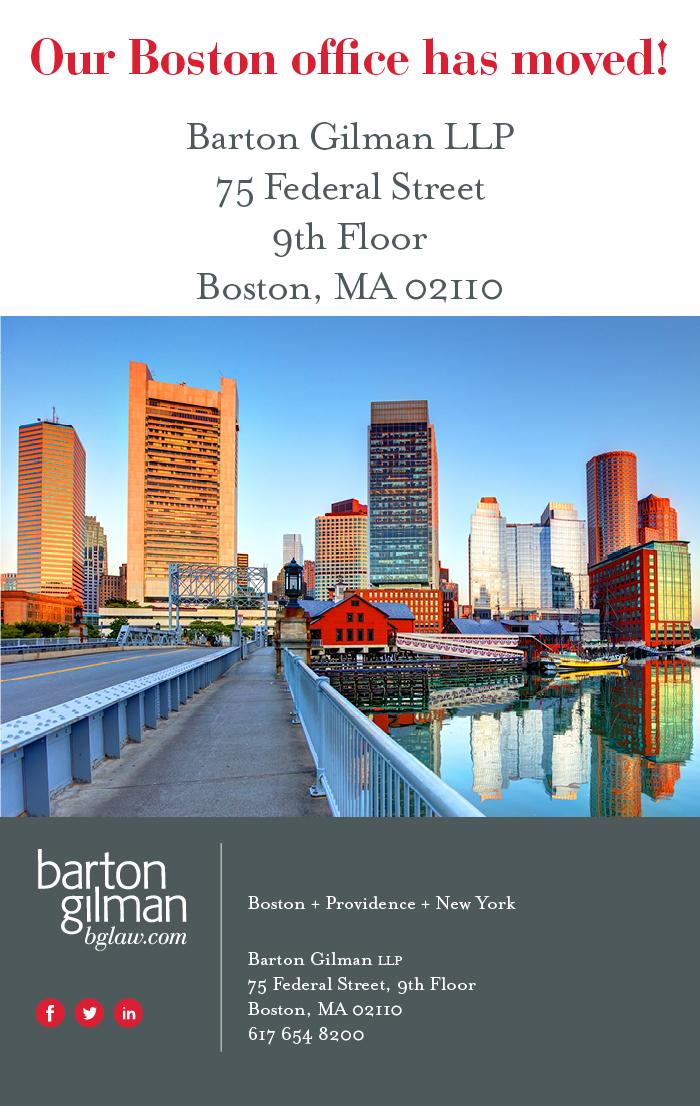 New Boston office location